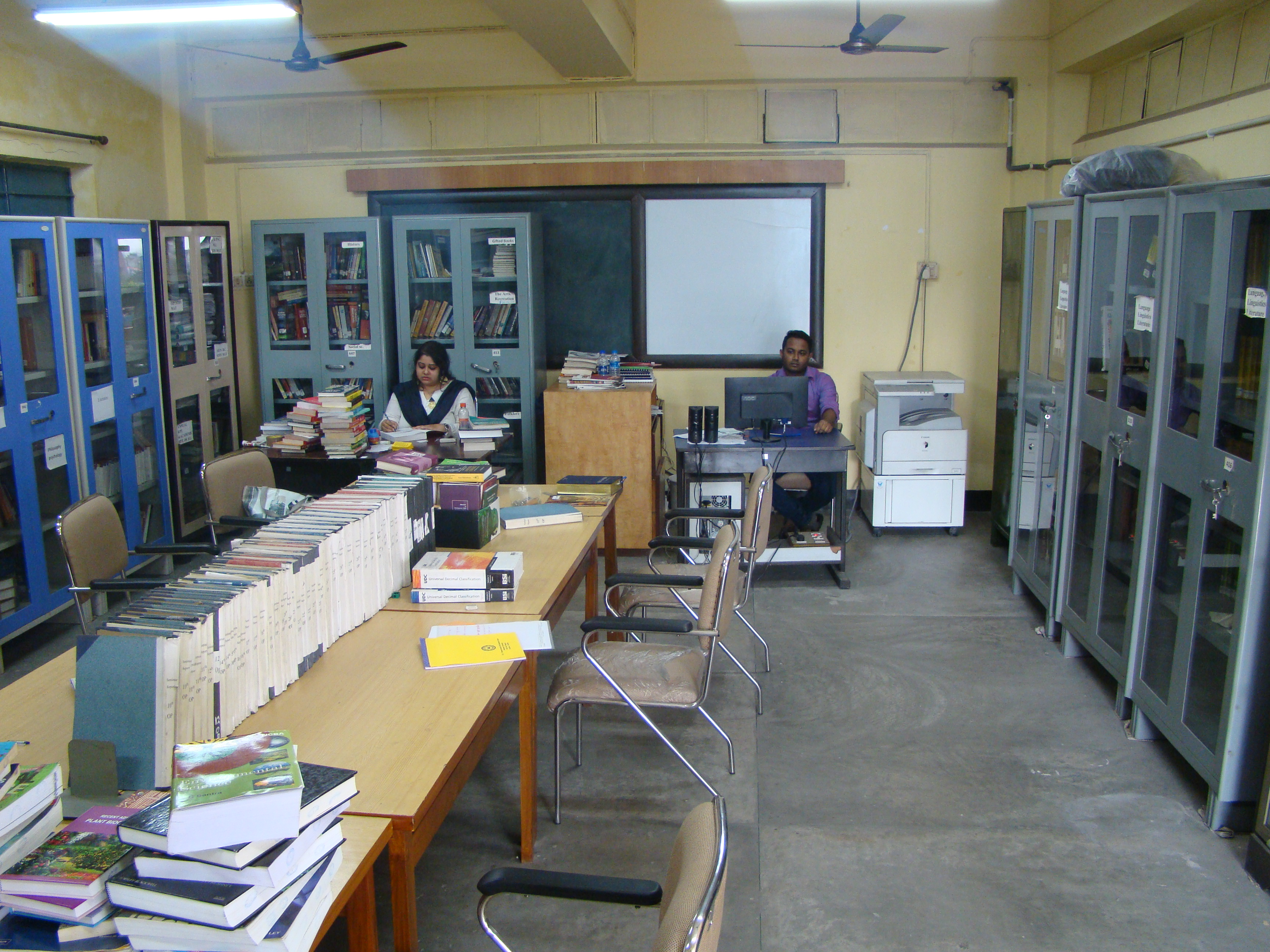 Library of HRDC, JU
